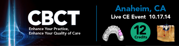 CBCT: Enhance Your Practice, Enhance Your Quality of Care Banner Image