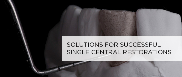 <p> 	Cases showing different scenarios associated with damage to a single central incisor  - and the solutions the restorative team devised to mimic nature. An IDT Master Class feature by Joshua Polansky, MDC.</p>