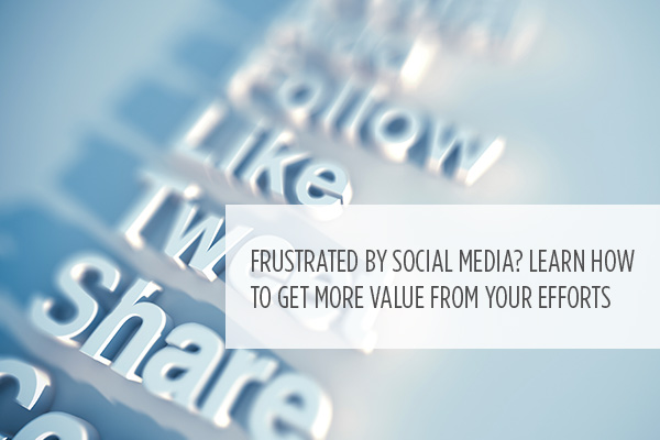 <p> 	Stop questioning the value of social media for your practice. Start with these tips and insights to help make these online platforms work for you.</p>