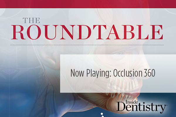 <p> 	What do <strong>Gary Alex, Thomas Basta,</strong> and <strong>John Cranham</strong> have to say about the state of occlusion? Find out in the latest Inside Dentistry video roundtable. </p>