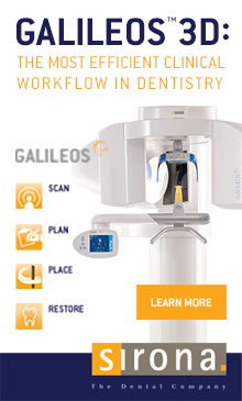 Galileos 3D, the most efficient clinical workflow in dentistry