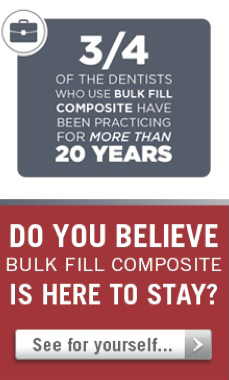 Are you using bulk fill composite?