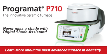 Never miss a shade with Digital Shade Assistant. Ivoclar Programat P710