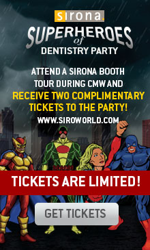 Receive two complimentary tickets! Superheroes of Dentistry Party!