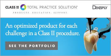 An optimized product for each challenge in a Class II procedure.