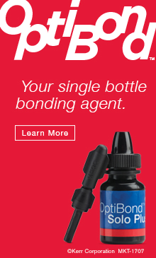 OptiBond - Your single bottle bonding agent.