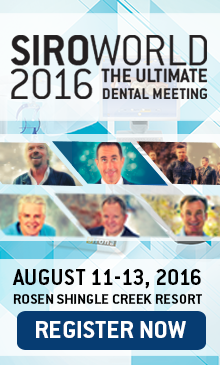 SiroWorld 2016: The Ultimate Dental Meeting