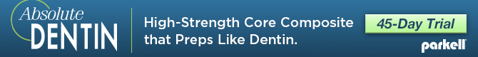 Absolute Dentin: High-strength core composite