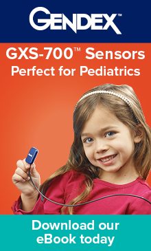 Gendex: GXS-700 Sensors are perfect for pediatrics.