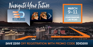 Save $200 off Registration - 3D Congress!