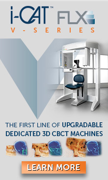 i-Cat FLX V-series - the first line of upgradable dedicated 3D CBCT machines!