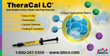 TheraCal LC - Resin-Modified Calcium Silicate Liner from Bisco!
