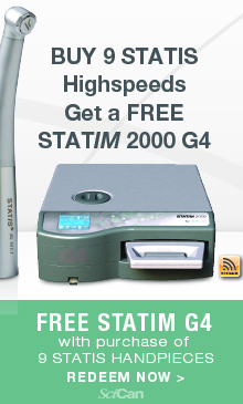 Gret a Free Statim 2000 G4 from SciCan!