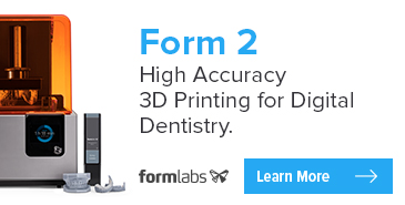 Form 2: High Accuracy 3D Printing for Digital Dentistry from FormLabs!