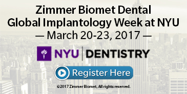 Global Implantology Week at NYU!