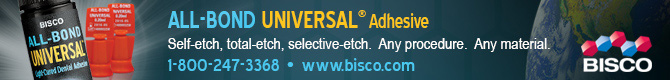 All-Bond Universal Adhesive - Self-etch, total-etch, selective-etch.