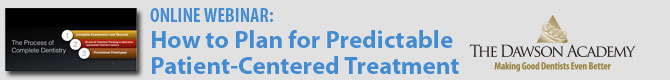 Webinar: How to Plan for Predictable Patient-Centered Treatment