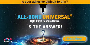 All-Bond Universal - light-cured dental adhesive