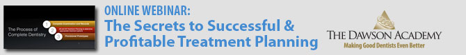 Webinar: The Secrets to Successful & Profitable Treatment Planning