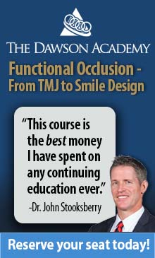 Learn more about this seminar in Functional Occlusion from Dawson Academy!