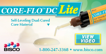 Core-Flo DC Lite - Self-Leveling Dual-Cured Core Material