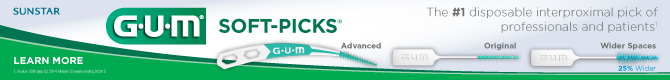 Soft-Picks - the #1 disposable interproximal pick of professionals and patients