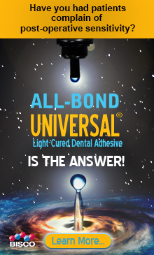 All Bond Universal, light-cured dental adhesive