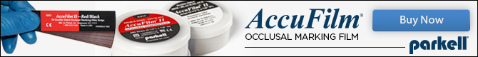 Accufilm - Occlusal marking film