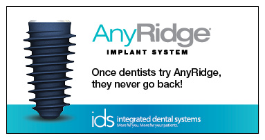 Once dentists try AnyRidge, they never go back!