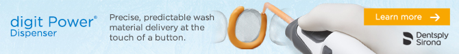 Precise, predictable wash material delivery at the touch of a button!