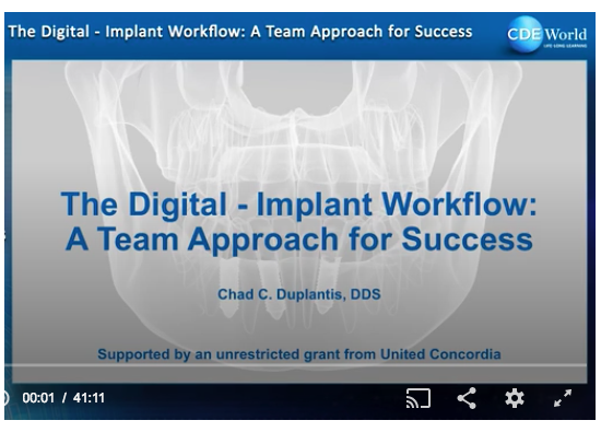 Learn more about the team approach to placing implants using digital dentistry!
