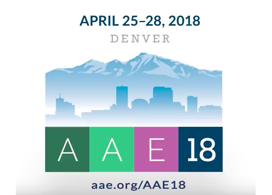 Learn more about the AAE's annual meeting!