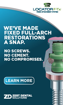 We've made fixed full arch restorations a snap!