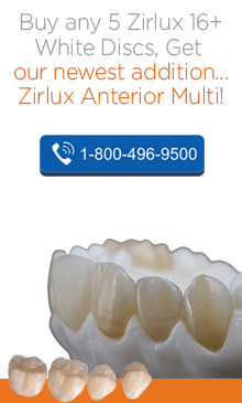 Buy any 5 Zirlux 16+ White Discs, Get our newest addition.