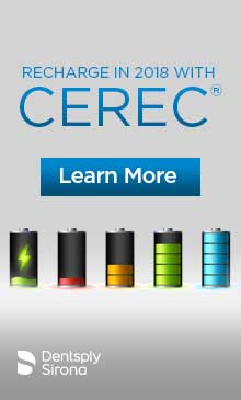 Recharge in 2018 with Cerec!