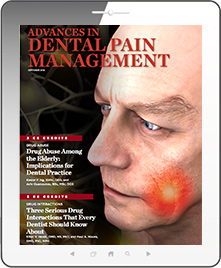 Advances in Dental Pain Management
