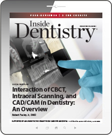 Interaction of CBCT, Intraoral Scanning, and CAD/CAM in Dentistry: An Overview