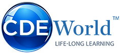 CDE World Continuing Dental Education Logo