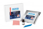 The Novus Definitive Resilient Denture Liner has three package sizes available to produce five, 15, and 45 dentures.