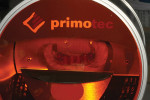Figure 7  The case was placed into primotec's Metalight Trend UVA curing light unit and cured for 10 minutes.