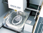 Figure 14  Roland displays the new open-architecture DWX-50, an affordable and compact five-axis milling machine.