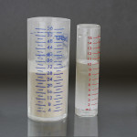 Figure 7  Measure acrylic powder and liquids accurately, following the manufacturer's directions.
