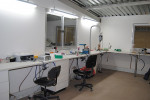 Figure 6  A second workbench area in the laboratory.