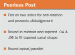 Figure 6  Benefits and disadvantages of different post materials.