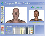Figure 3 Digital diagnostic image showing the range of motion impairment for the patient.