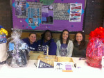 Students in Harcum College Dental Assisting Program sold raffle tickets for several service projects.
