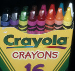 Figure 8  Crayons that are worn on one end to demonstrate to the patient wear patterns of bruxism.