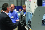 ColLABoration attendees visit with manufacturers and learn about new product offerings.