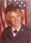 Martha McCaslin's basic military training photo in 1979.