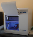 A Wieland Zenotec mini mill provides laboratories with a number of milling options.